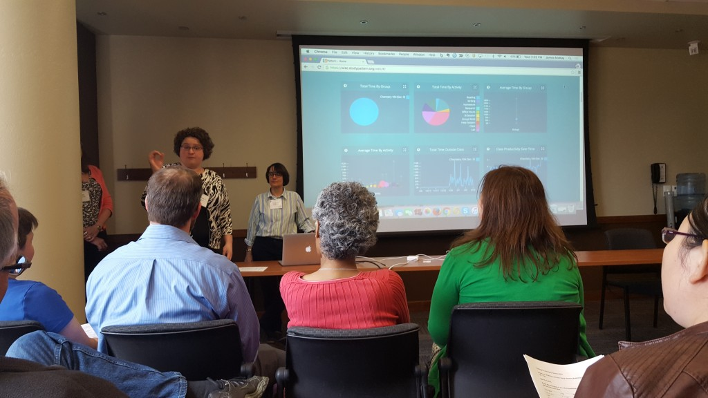 Kimberly Arnold presents Study Pattern with Judith Burstyn