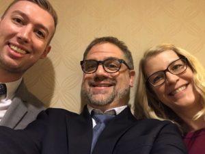 ELI Annual Meeting 2018 Cody Connor, Matthew Aron, Sarah Miller