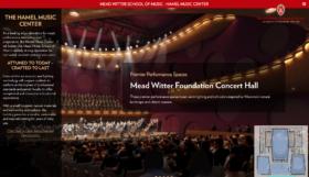 Hamel Music Center Website