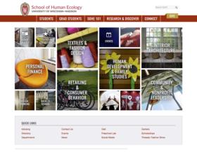 School of Human Ecology Website